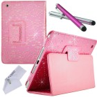 Apple iPad Bling PU Leather Case with Smart Cover Function