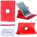 Apple iPad Mini Faux Leather Smart Cover Case
