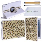 Apple iPad Mini Rotating Faux Leather Bling Case