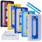 Samsung Galaxy Note 2 N7100 Classic Cassette Tape Silicone Case