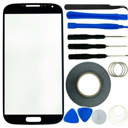 Samsung Galaxy S4 Screen Replacement Kit with Replacement Glass and Full Tool Kit