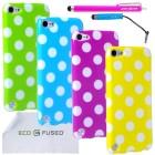 Apple iPod Touch 5 Polka Dot Case Bundle – 4 Pieces