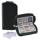 Memory Card Carrying Case for SDHC and SD Cards – 22 Slots